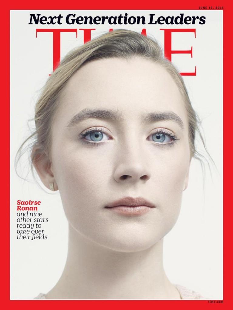 Ronan es una actriz irlandesa, con dos nominaciones al Oscar. (TIME)