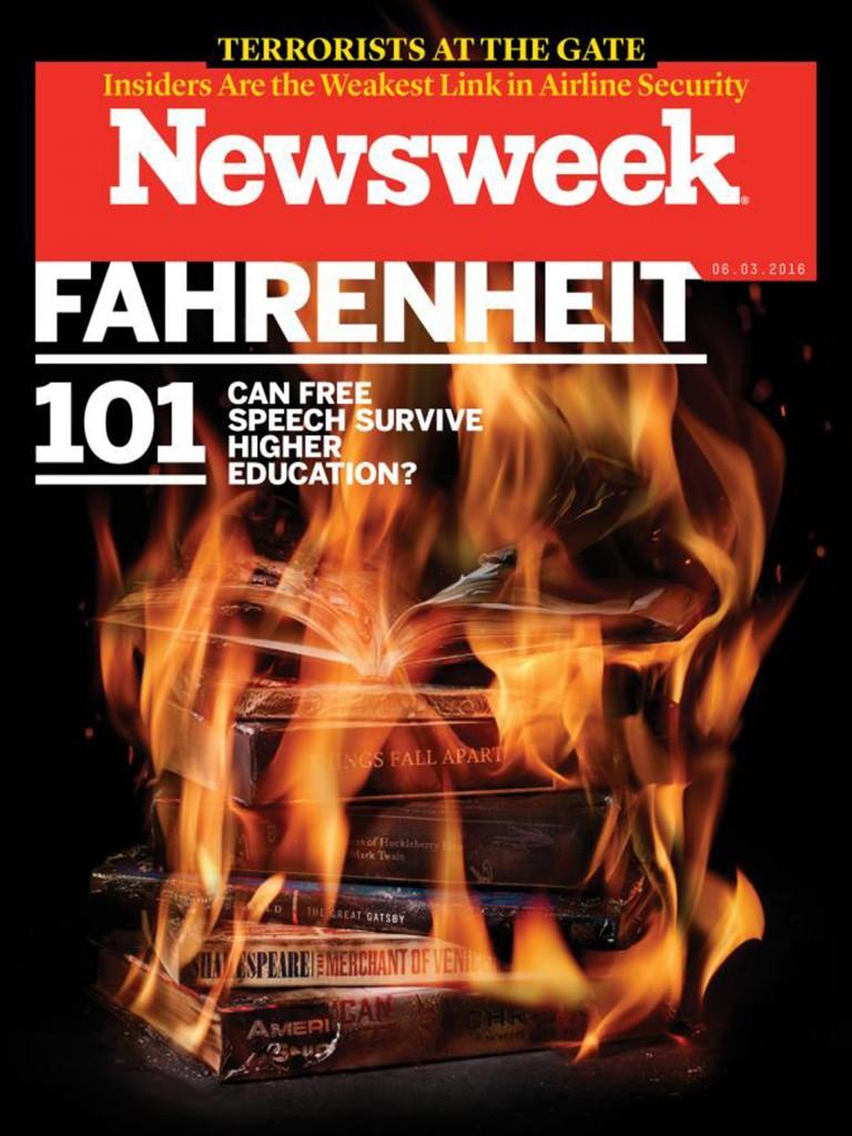 La tapa de la revista Newsweek puso el debate en la picota