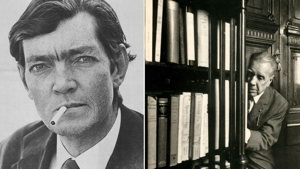 Las icónicas fotografías de Facio sobre Julio Cortázar y Jorge Luis Borges (Sara Facio)