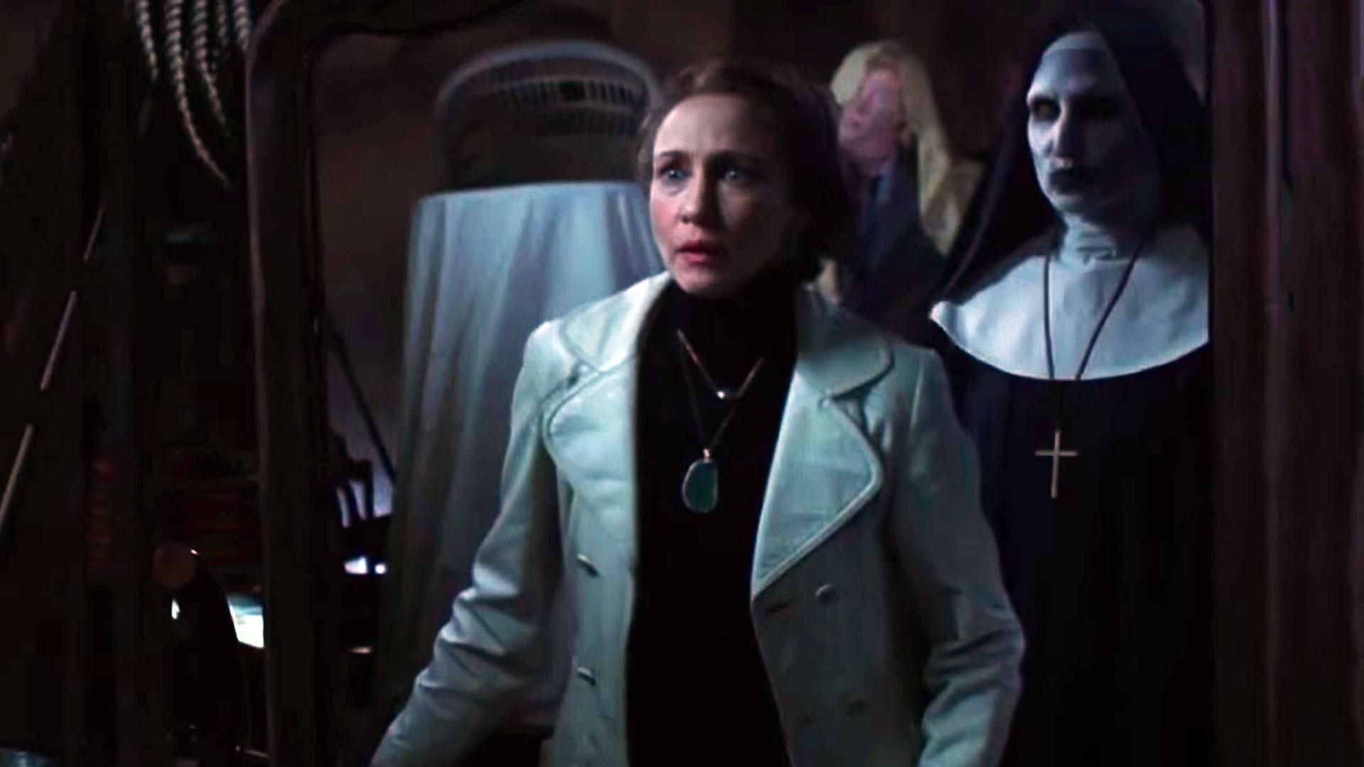 Vera Farmiga en una escena de la película'El Conjuro 2'