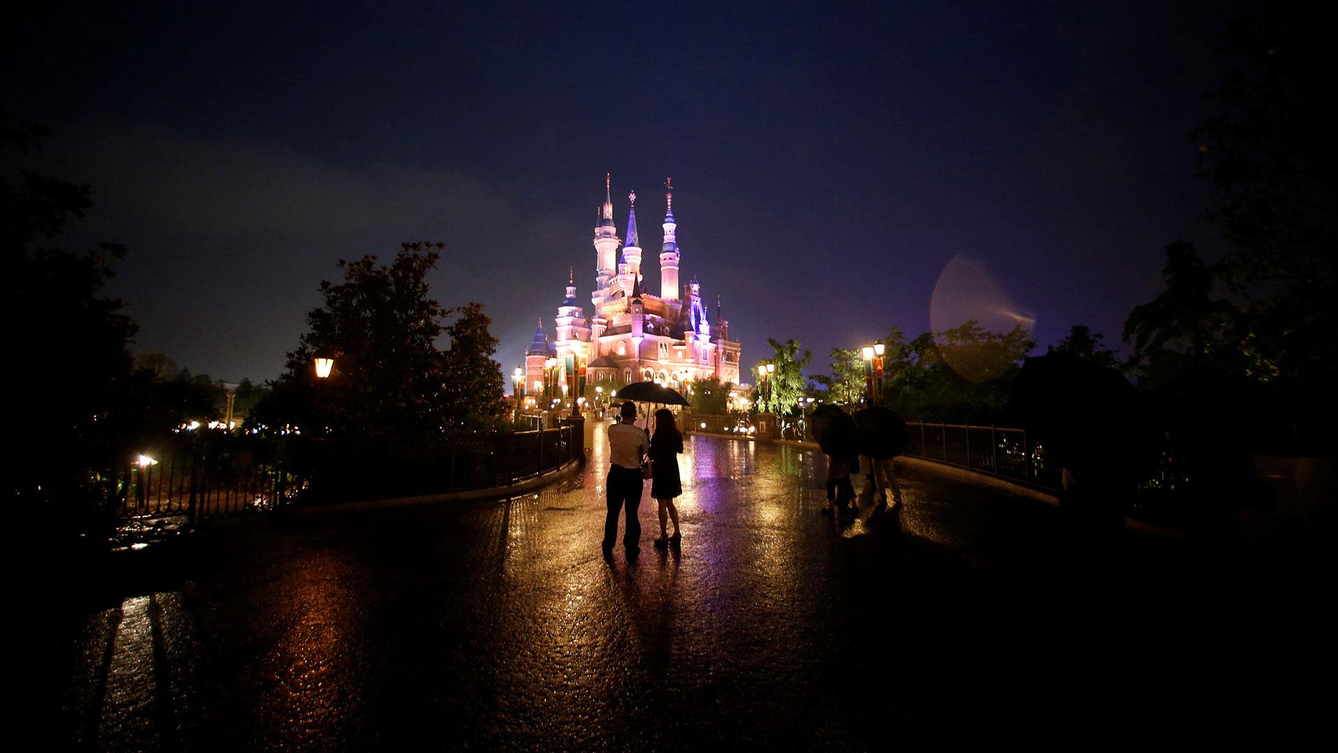 El flamante parque de diversiones de Disney está en Shangai (Reuters)