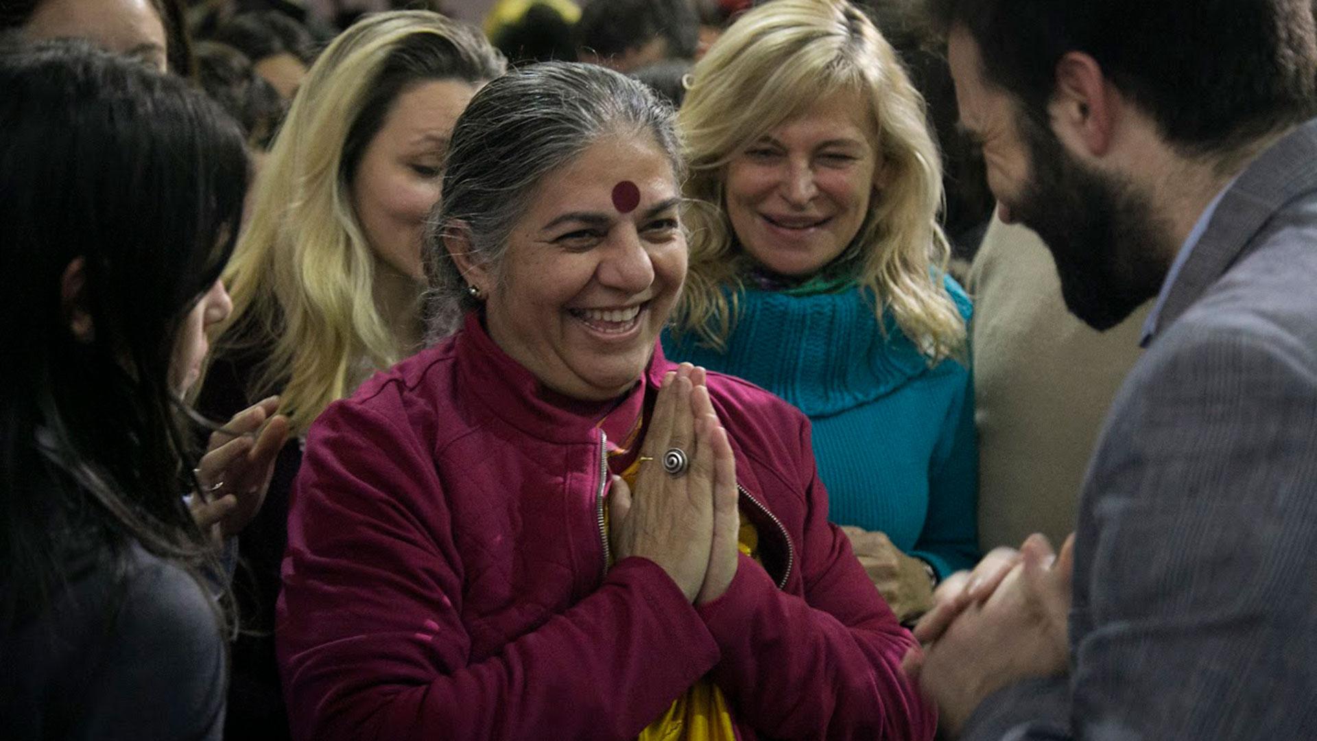 Vandana Shiva en Buenos Aires (FINCA)