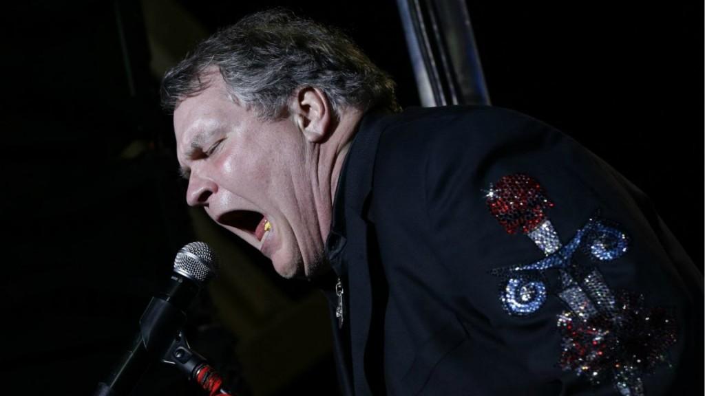Meat Loaf es conocido por un estilo teatral y operático en sus canciones (AP)