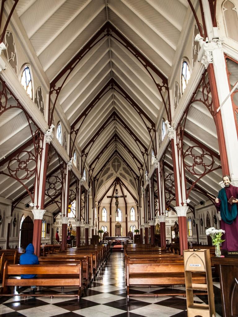 Nave principal de la Catedral de San Marcos (Shutterstock)