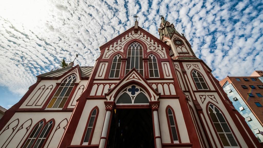 La Catedral de San Marcos, Chile, uno de los edificios más destacados de la región (Shutterstock)