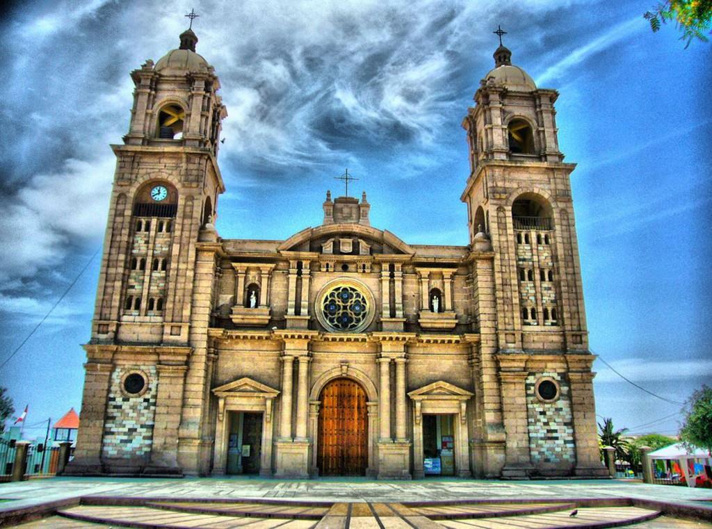 La Catedral nació chilena, pero en la actualidad pertenece a Perú