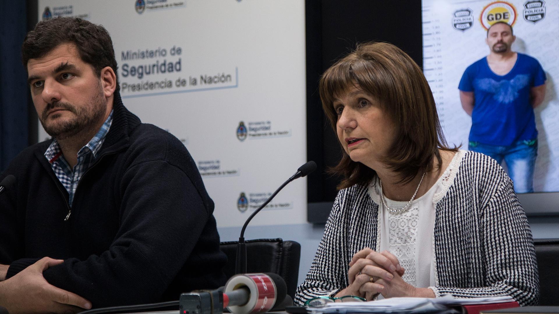 Patricia Bullrich y Eugenio Burzaco (NA)