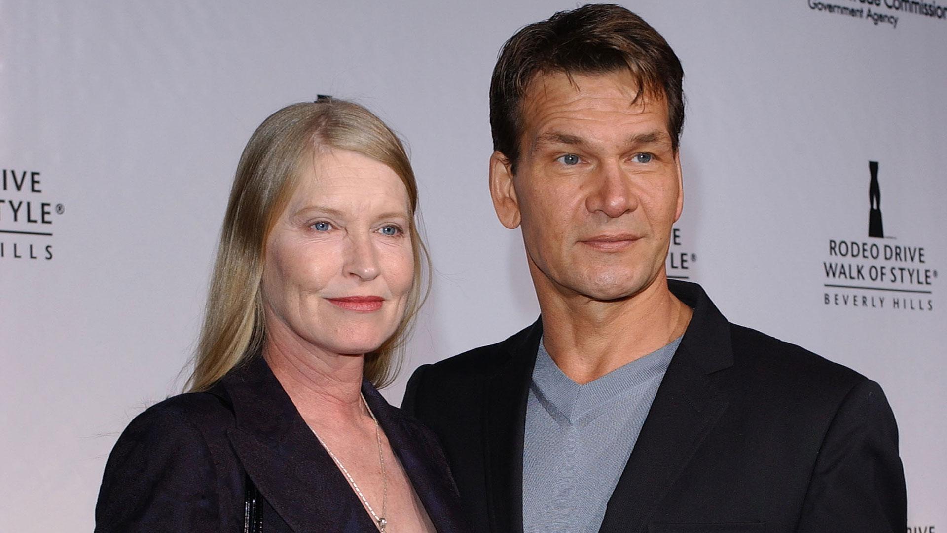 Lisa Niemi y Patrick Swayze estuvieron casados más de 34 años (Grosby Group)