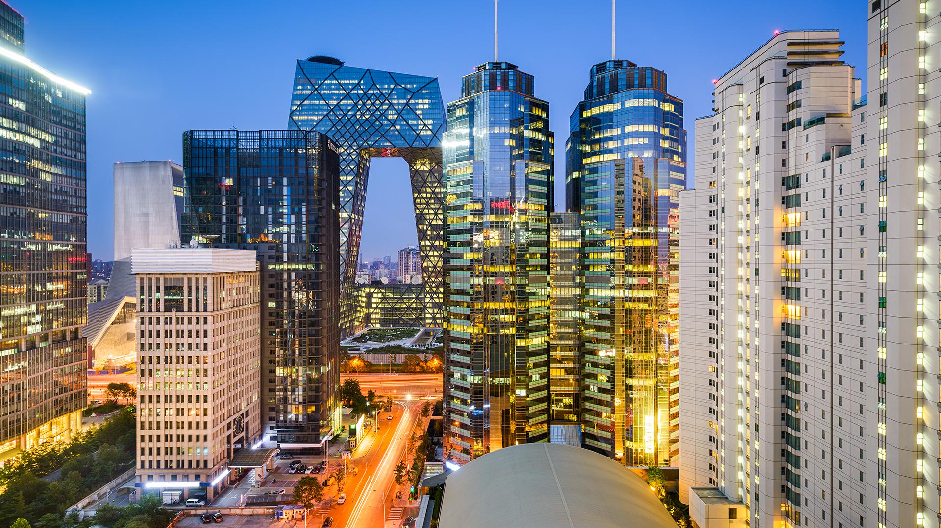 El distrito financiero de Beijing(Shutterstock)