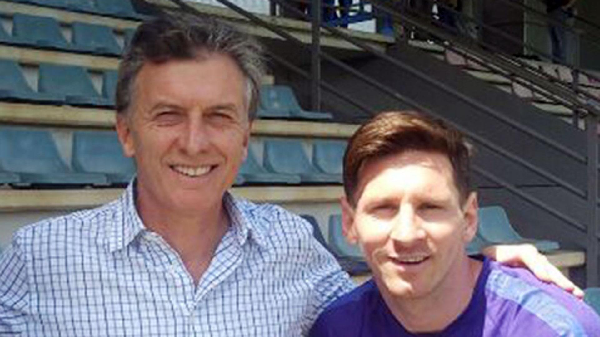Mauricio Macri intentará reunirse con Lionel Messi esta semana