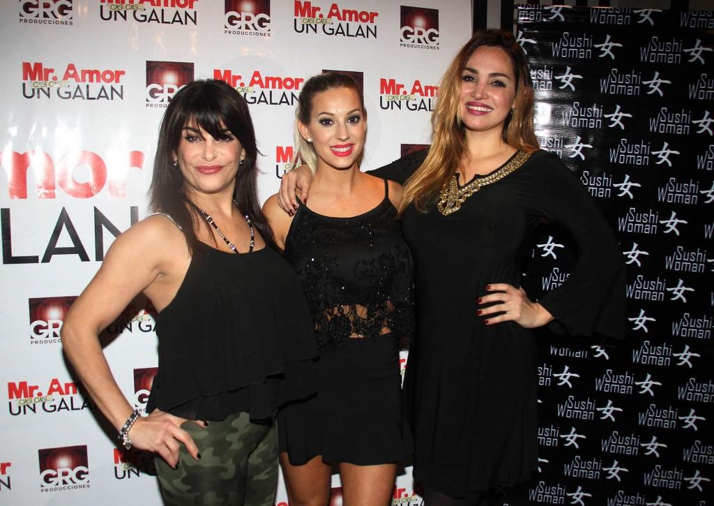 Alejandra Majluf, Noelia Marzol y Belén Francese