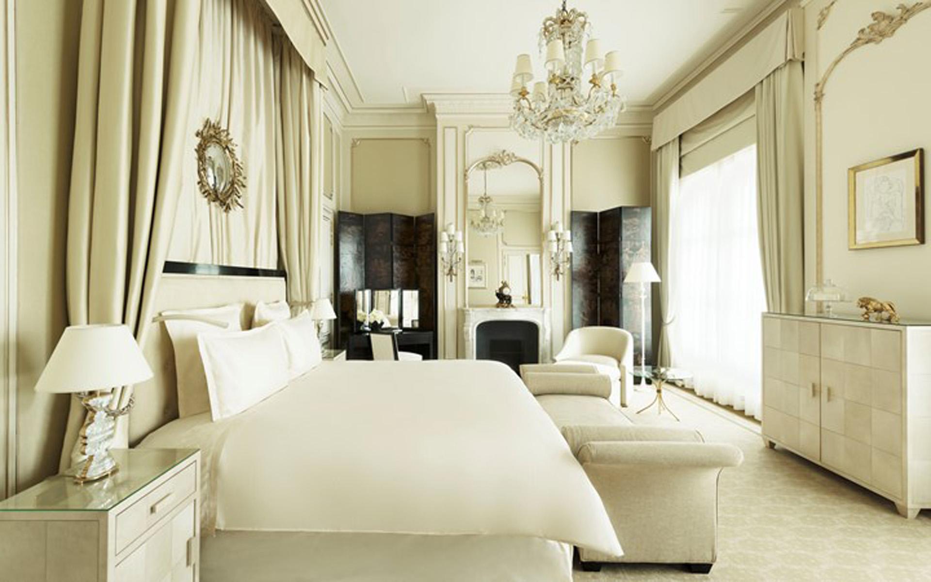 La suite Coco Chanel en homenaje a la diseñadora que vivió durante más de tres décadas en este emblemático edifcio (Ritz)