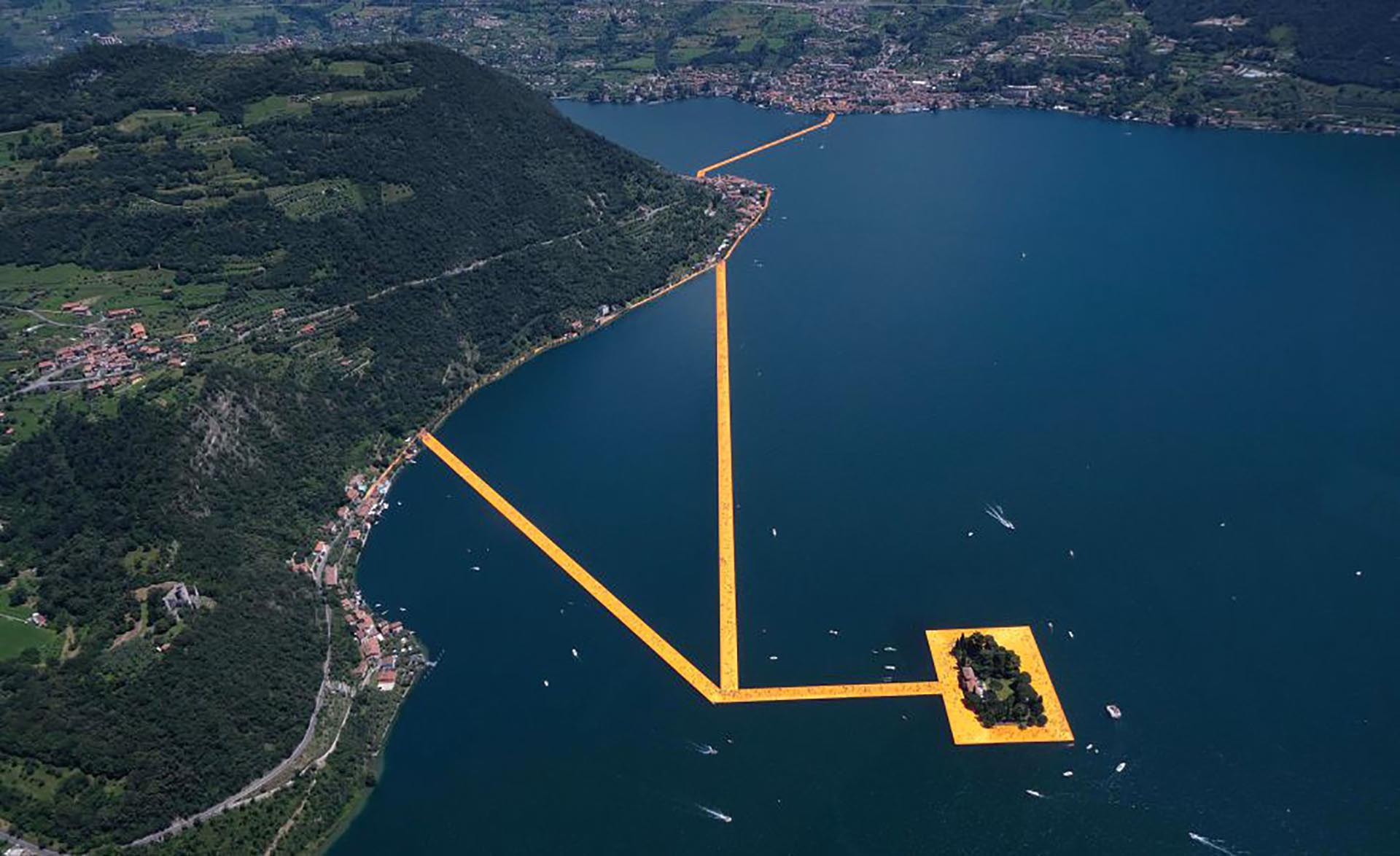 Vista aérea del proyecto