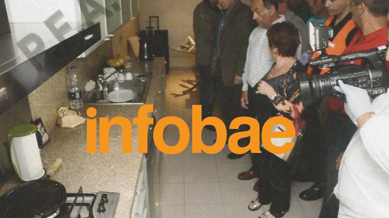 Al menos 30 personas transitaron por el departamento de las torres Le Parc(Infobae)