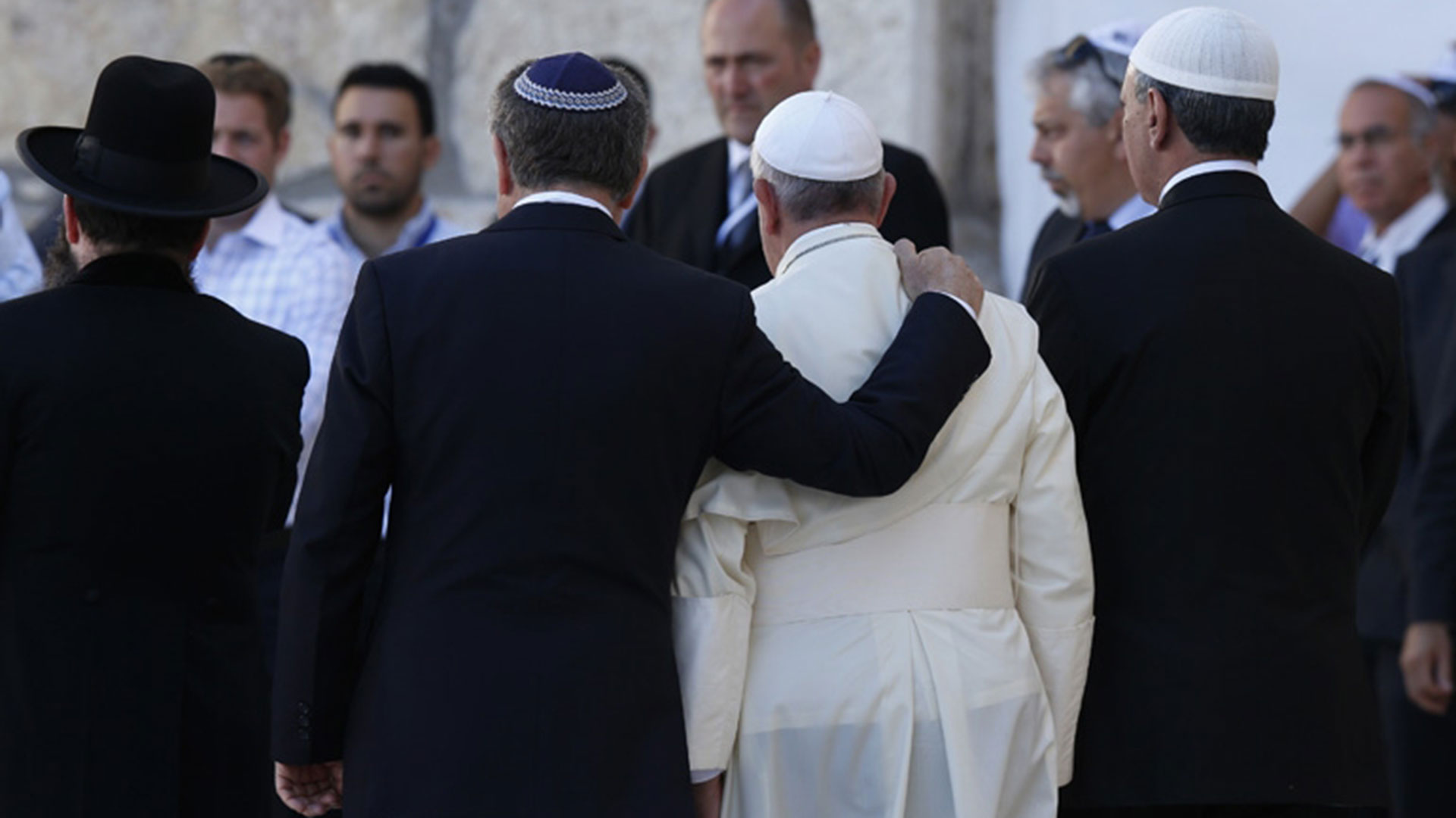 El papa Francisco (aquí, con el rabino Abraham Skorka) y el diálogo interreligioso: uno de los temas del Seminario