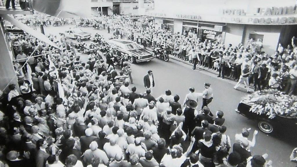 Funeral de Arturo Illia, 1983