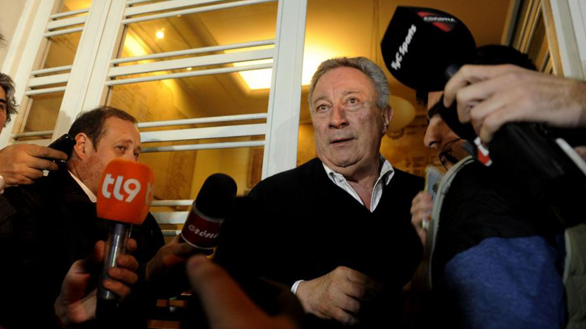 Luis Segura es el presidente interino de la AFAhasta que se designe la Comisión Normalizadora (Télam)
