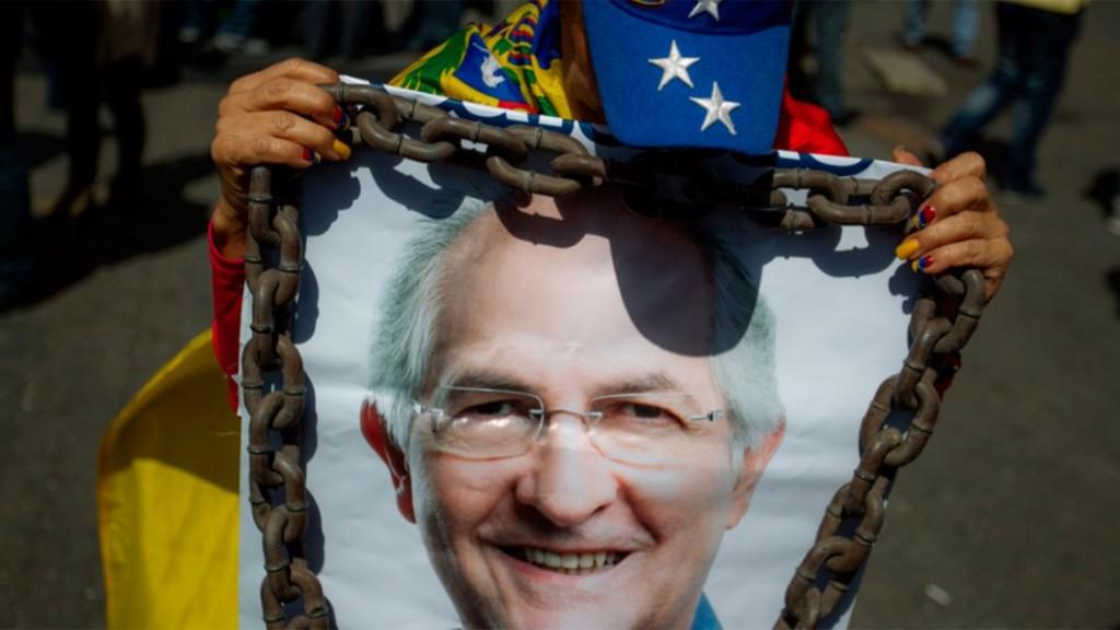 Antonio Ledezma, preso político de Venezuela