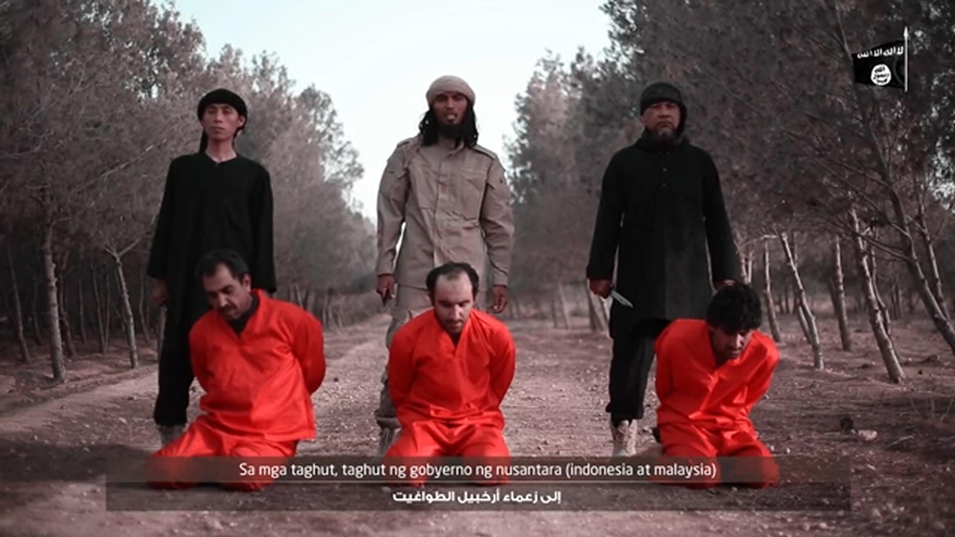 El Estado Islámico anunció el desembarco de una célula en Filipinas con un video de tres decapitaciones