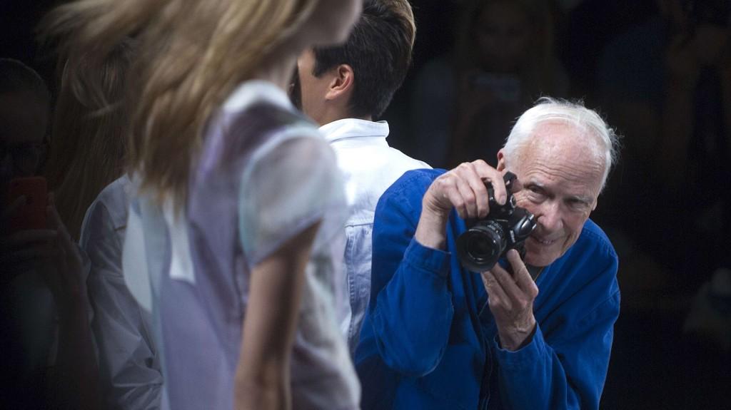 Bill Cunningham en un evento de Lacoste en el año 2014 (Reuters)