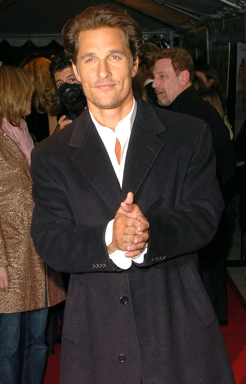 Quién fue el amor platónico de Matthew McConaughey (Grosbygroup)
