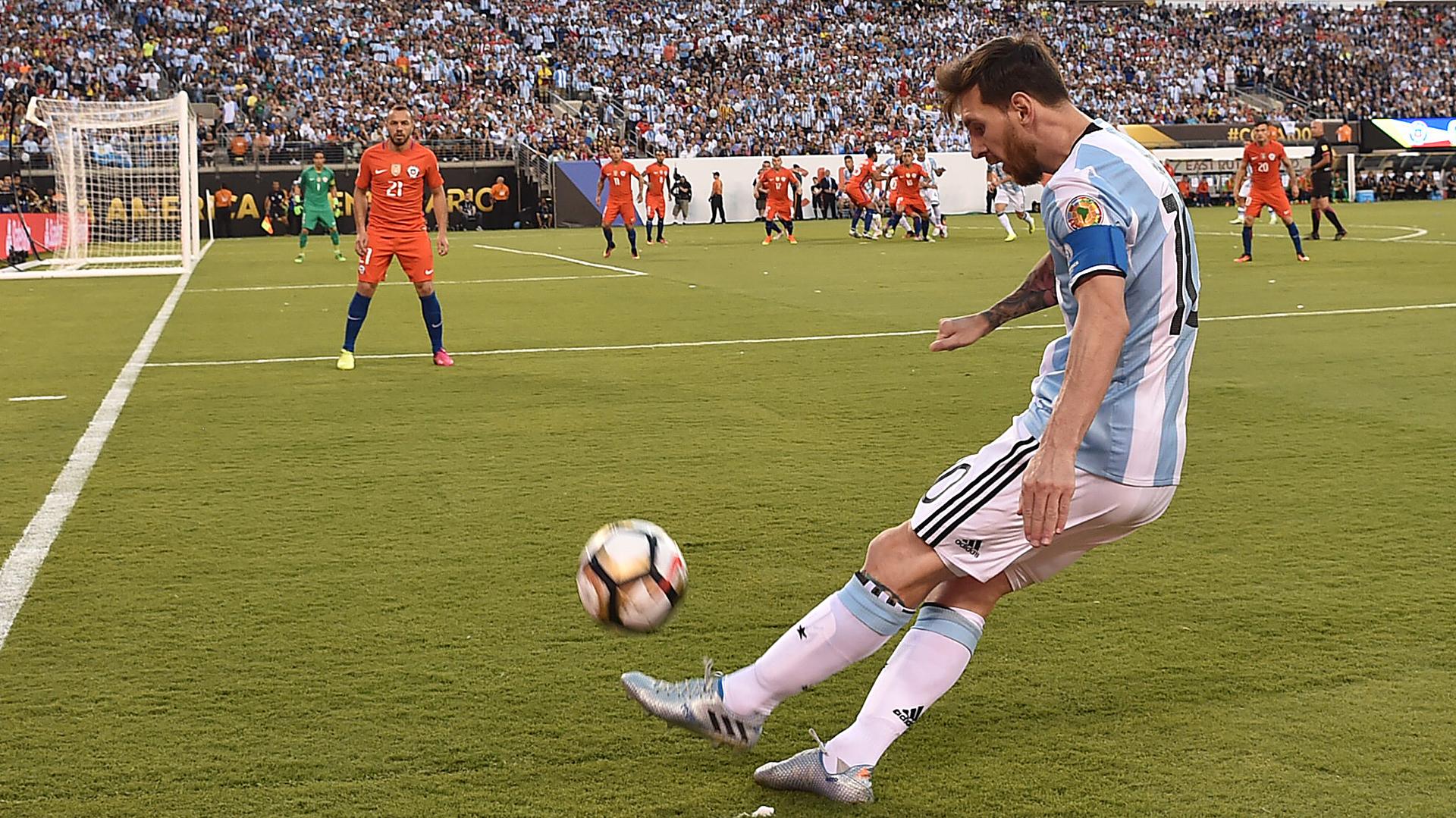 Lionel Messi fue una de las figuras del partido (AFP)