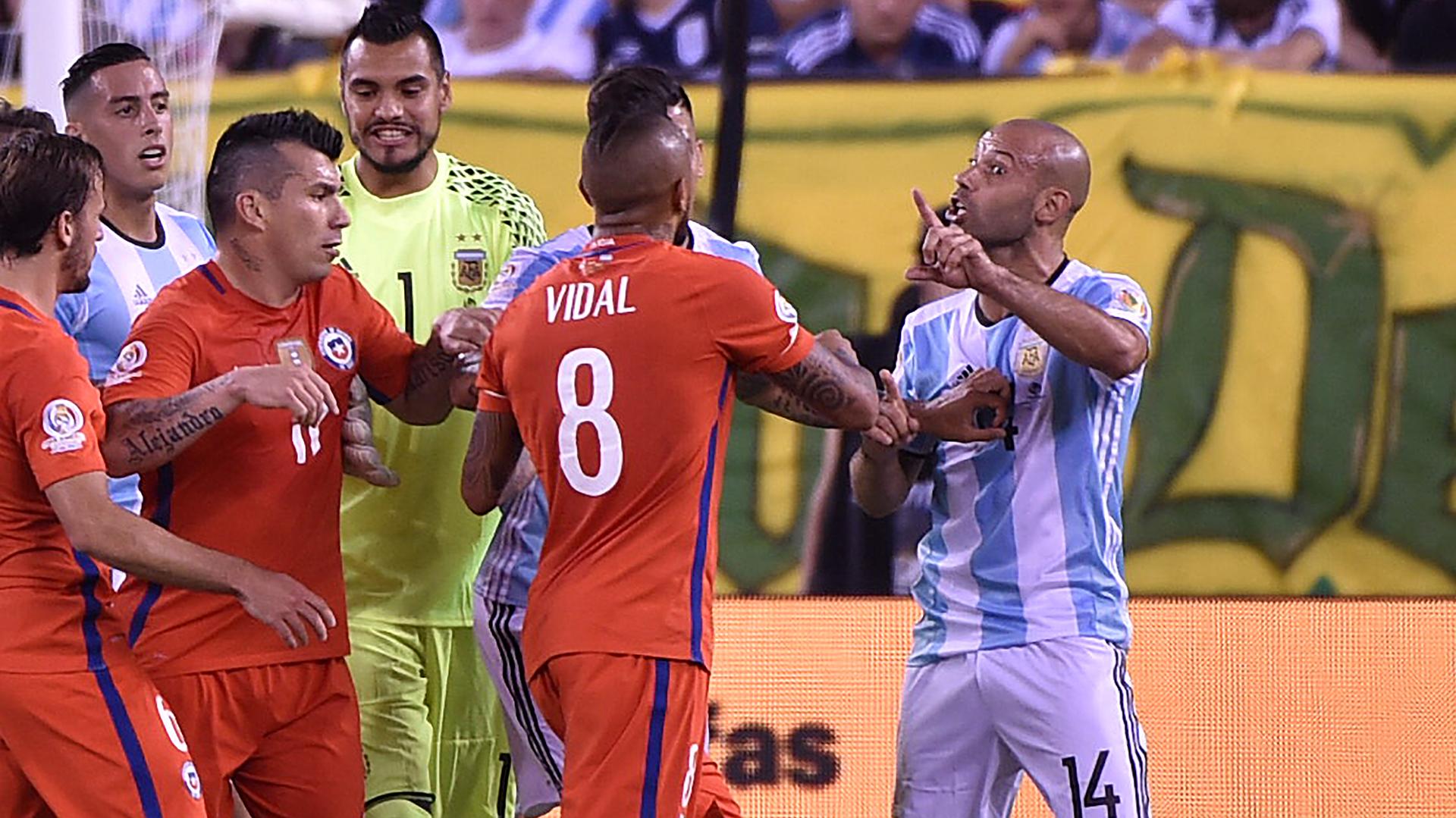 Argentina perdió una nueva final (AFP)
