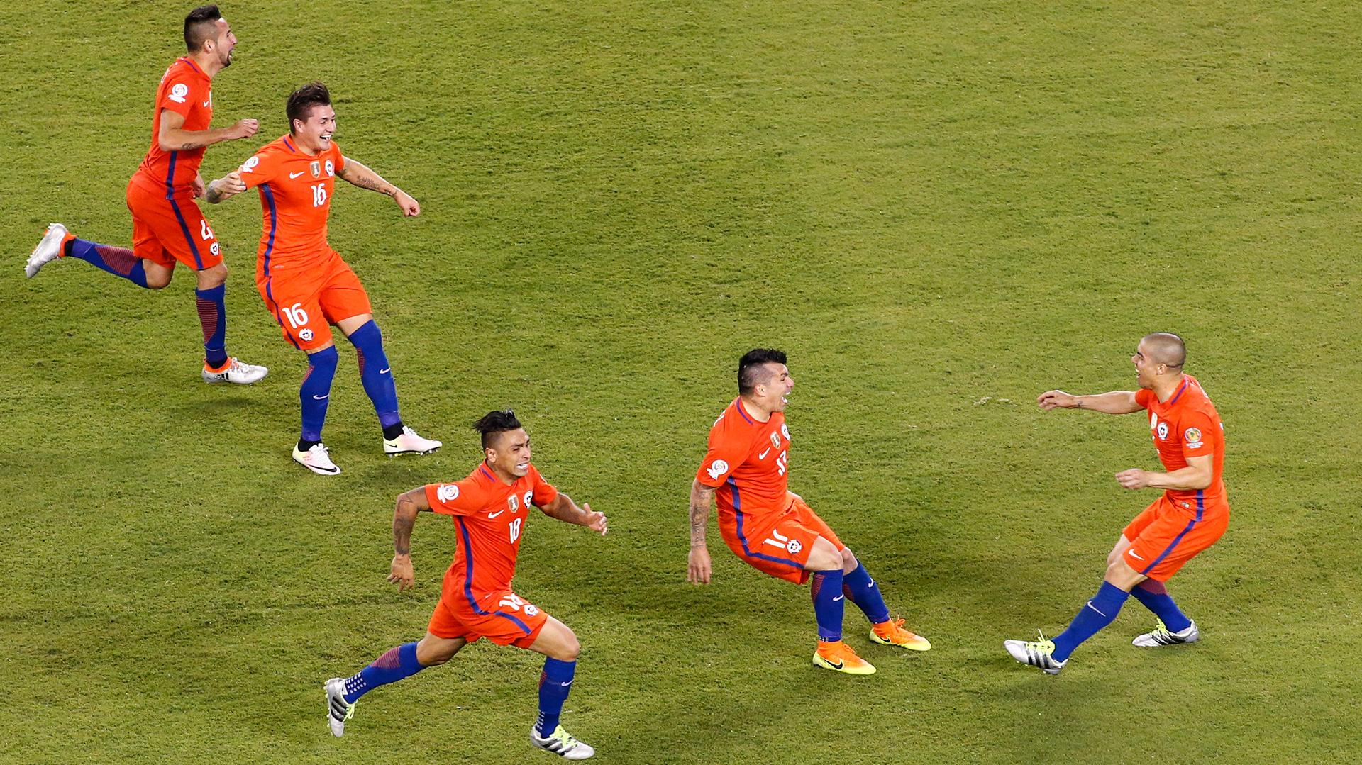 Chile logró el segundo título de su historia (EFE)