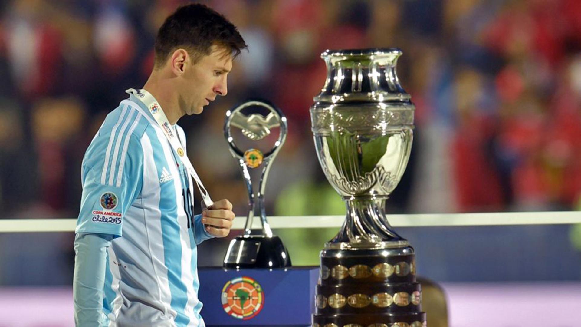 Las cuatro finales que Messi perdió con la selección argentina - Infobae