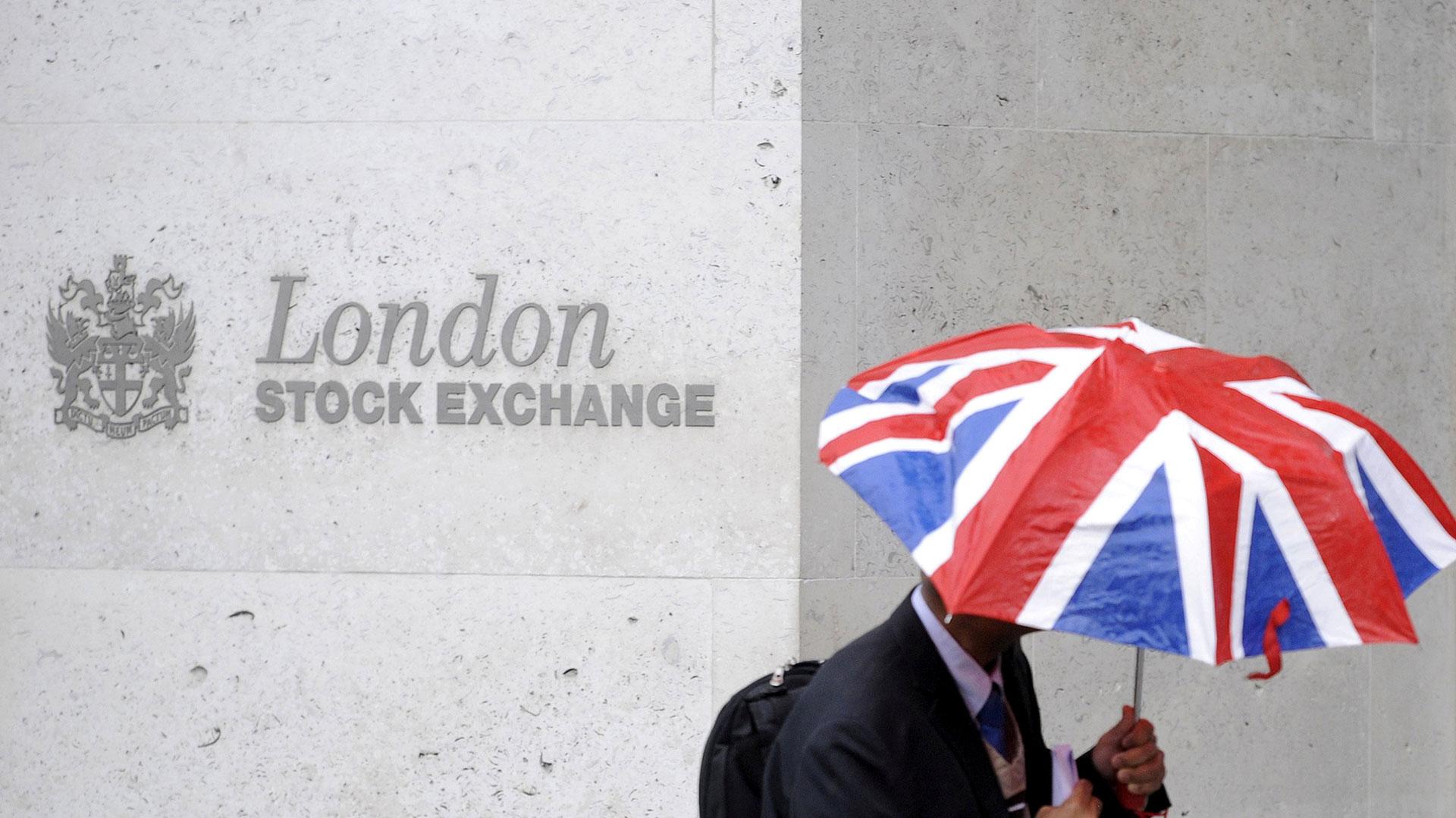 La Bolsa de Londres y un año atravesado por las turbulencias del Brexit (Reuters)