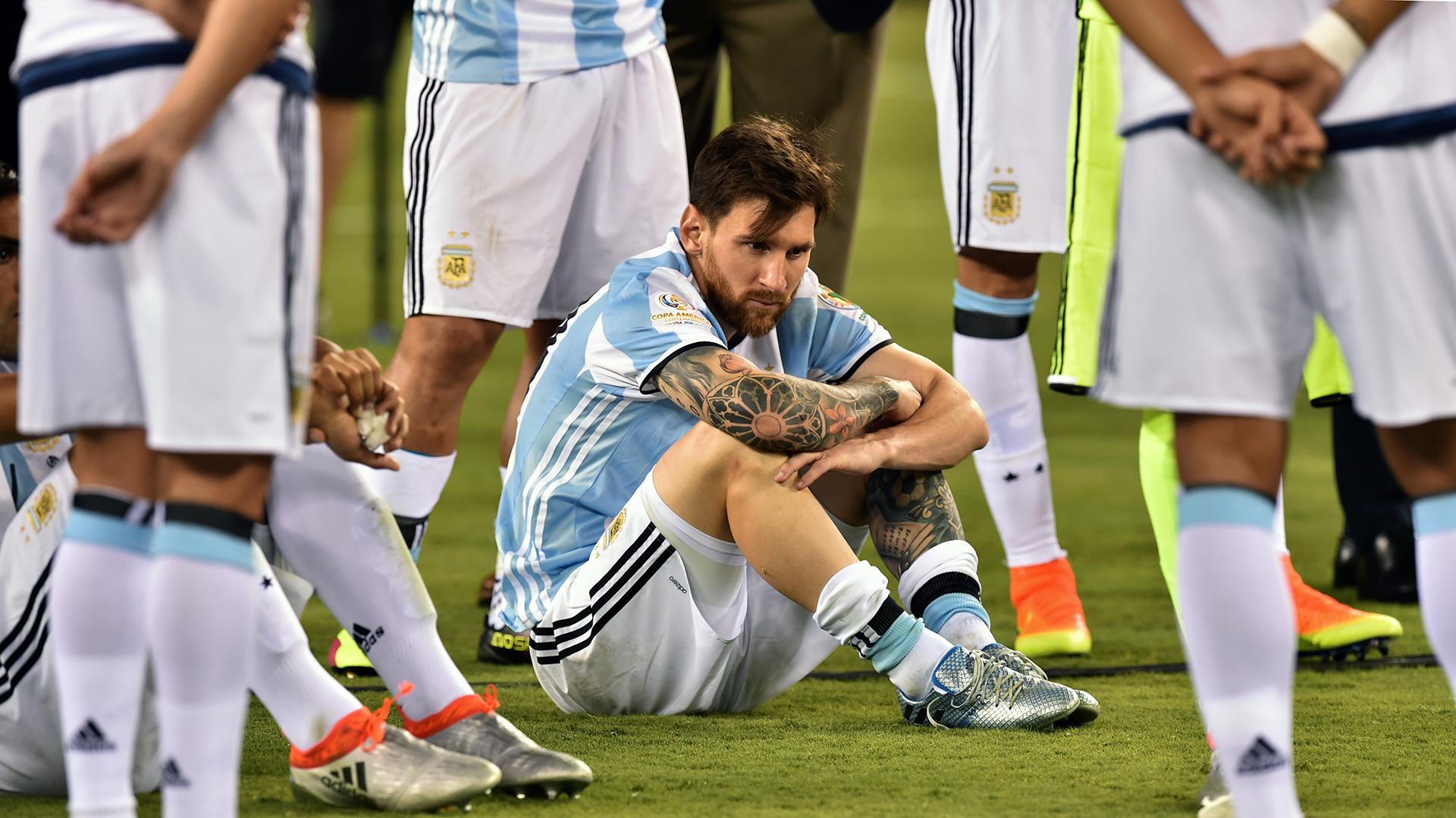 Chile venció a Argentina y es campeón de la Copa América Centenario (AFP)