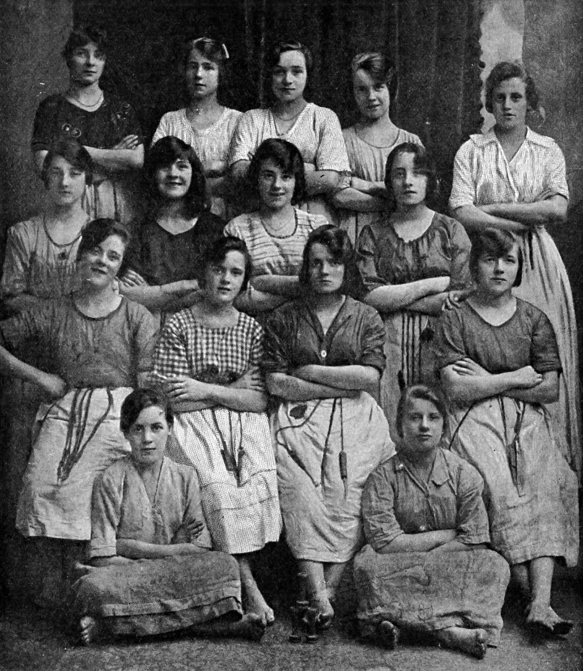 La imagen formó parte de una serie de fotografías que mostraban profesiones antiguas en Belfast. Una lectora del Belfast Live escribió para contar un detalle escabroso