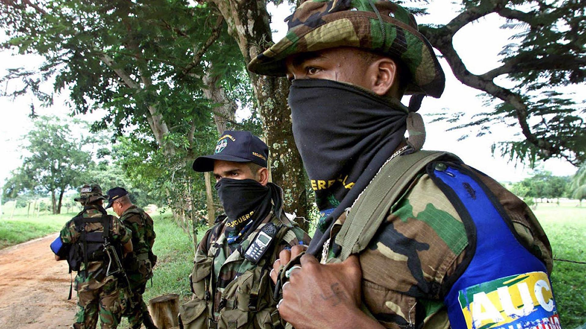 Durante tres décadas, los paramilitares colombianos sembraron el terror (AFP)