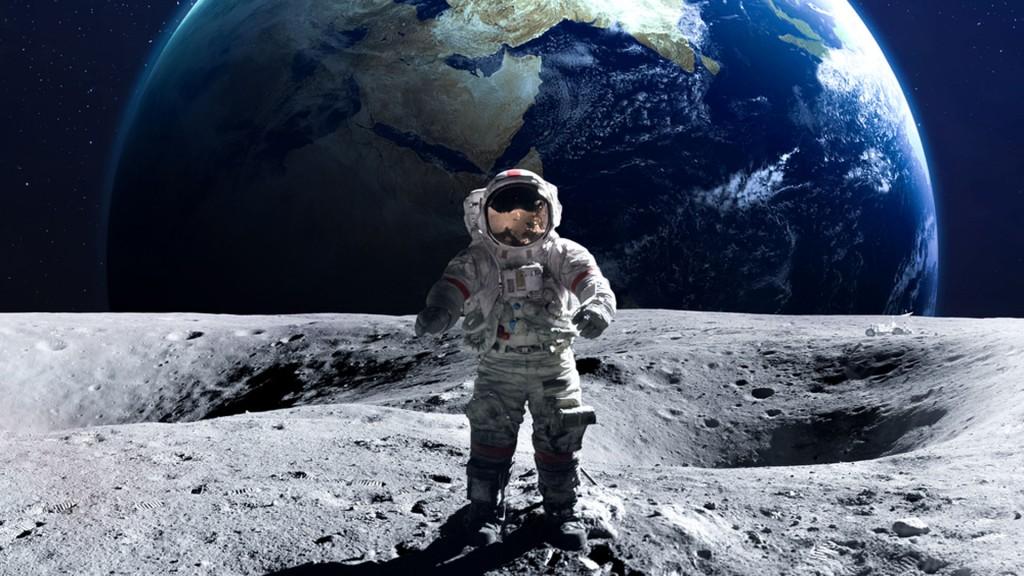 Seis misiones Apolo finalizaron con un alunizaje (Shutterstock)