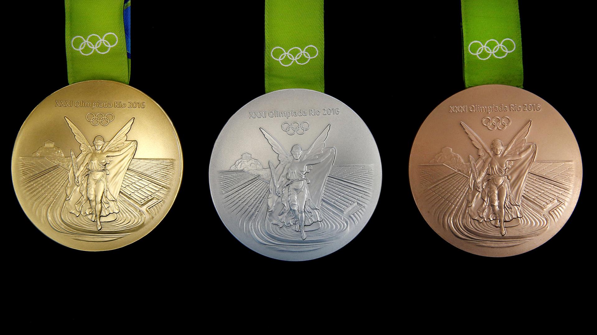 Estas medallas son las más sustentables de la historia de los juegos olímpicos (Reuters)
