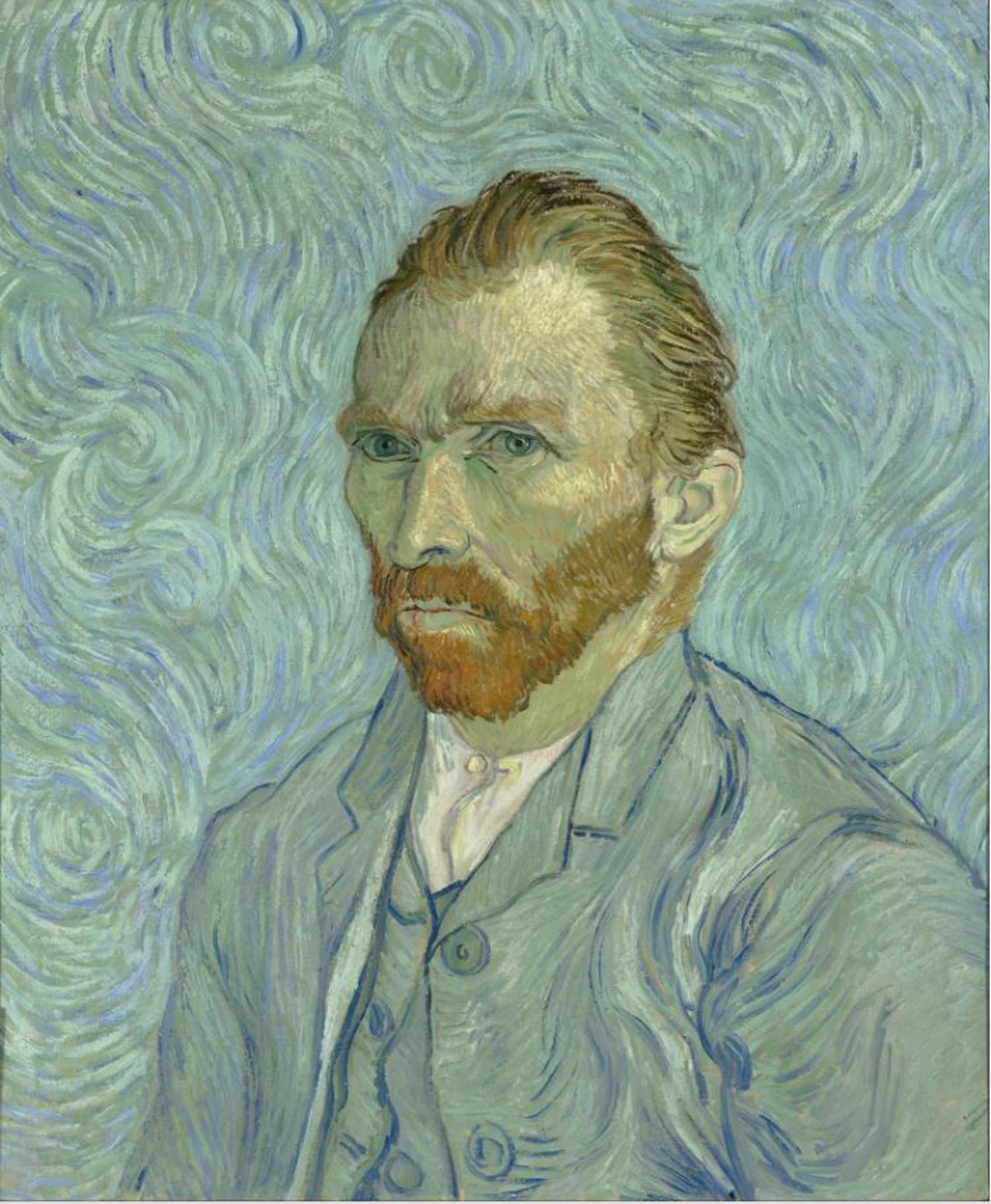 Autorretrato de Vincent Van Gogh en el Musée d'Orsay, París