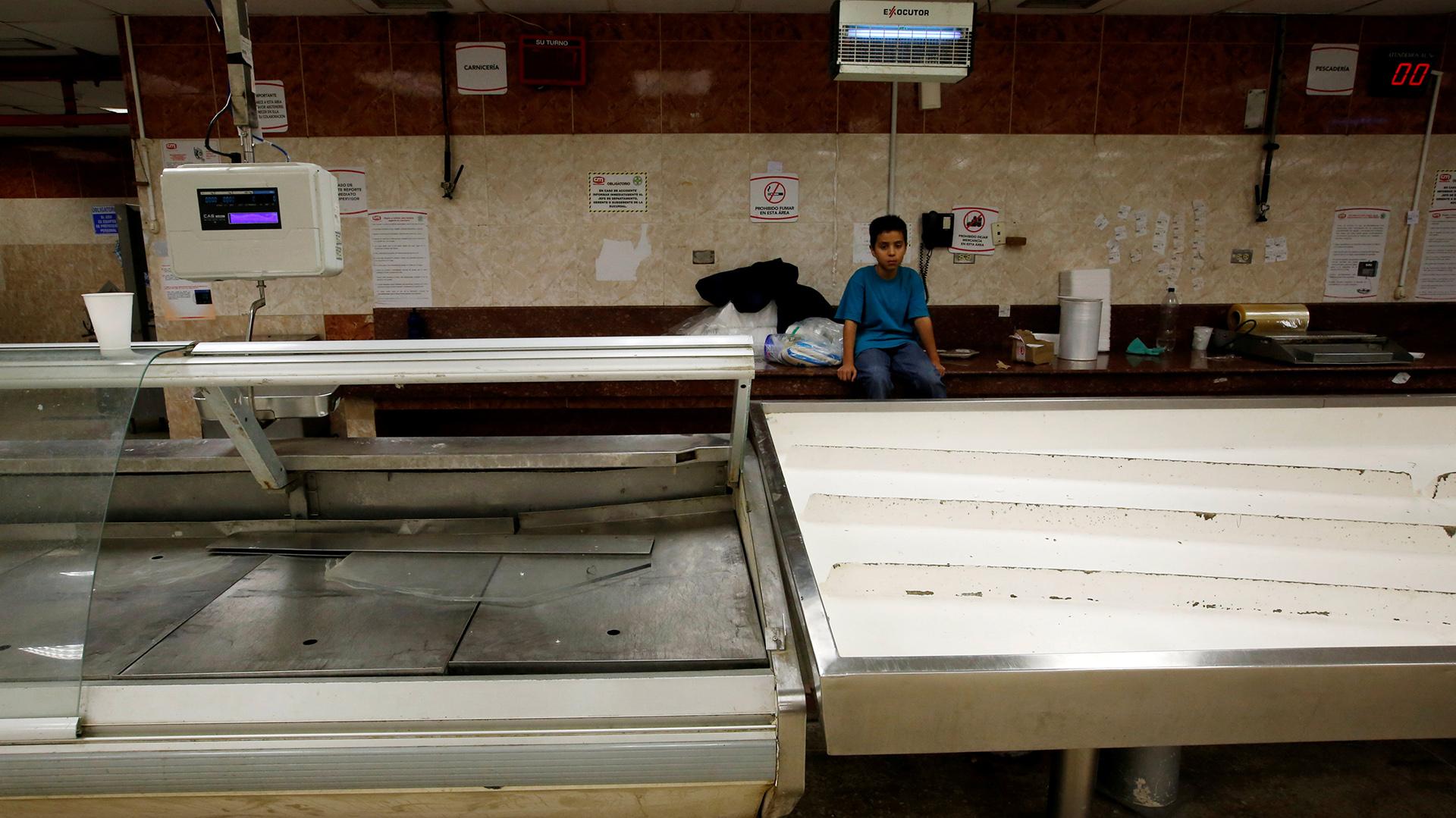 Los diarios locales reportan incidentes todos los días por la falta de alimentos (Reuters)