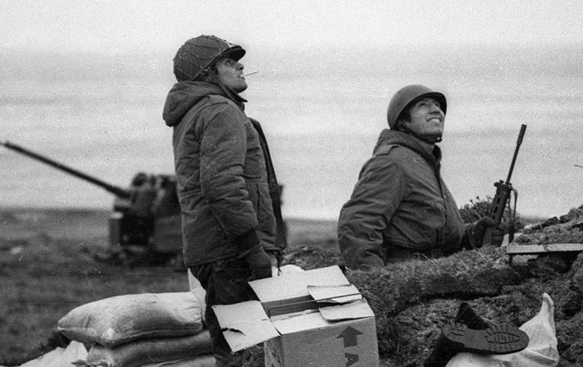 La guerra del Atlántico Sur enfrentó al Reino Unido y la Argentina por la soberanía de las Islas Malvinas, que aún están en disputa (Télam)