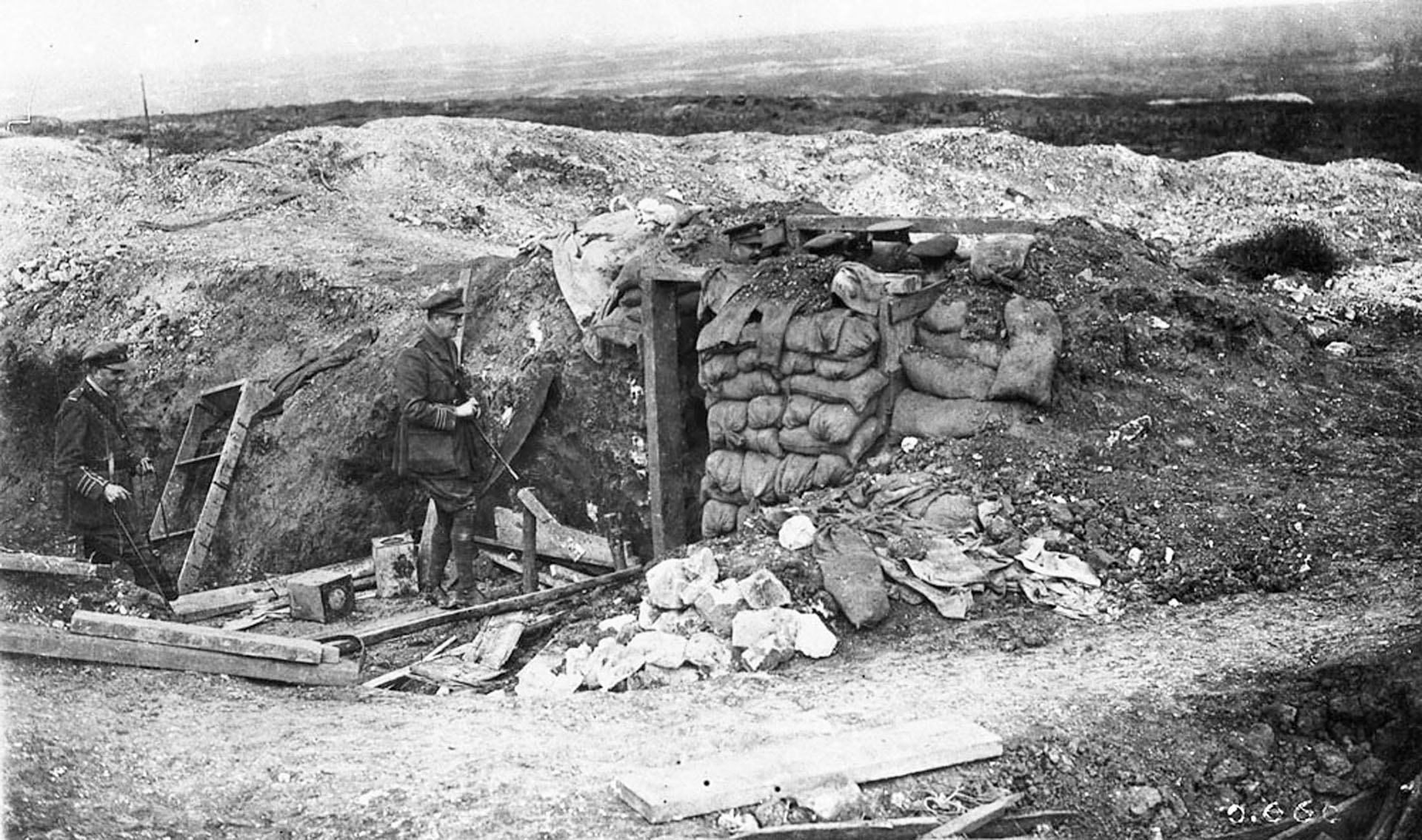 En pocas horas murieron cerca de 20.000 ingleses. Al finalizar el primer día de la batalla, otros 40.000 más habían sido heridos, hechos prisioneros o, simplemente, dados por desaparecidos (Reuters)