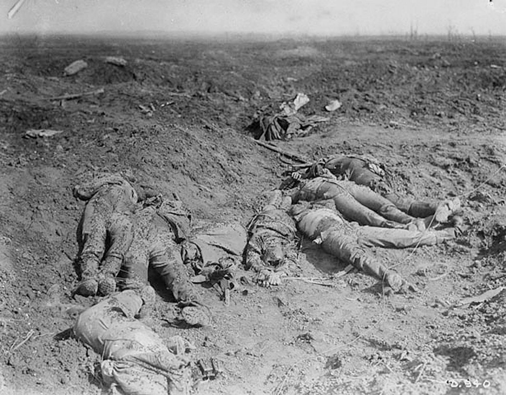 La batalla del Somme, que transcurrió alrededor del río del mismo nombre, en el norte de Francia, fue una de las batallas más sangrientas de la Primera Guerra Mundial: dejó más de un millón de bajas entre ambos bandos (Reuters)