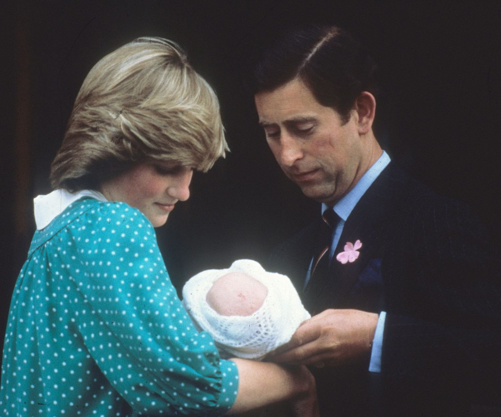 El nacimiento de Harry la llenó de felicidad.