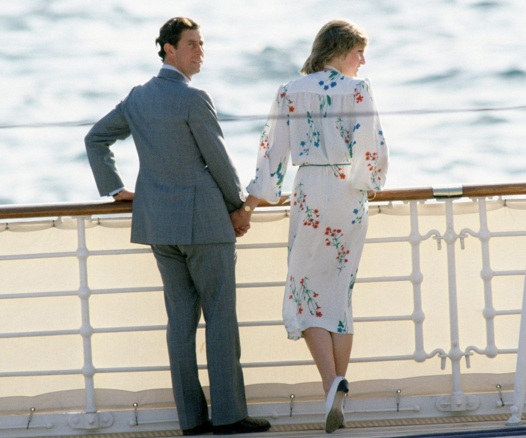 Un crucero a solas para una pareja de la que se conocen pocas fotos en donde se los vio en plenitud. En 1996 finalmente se divorciaron