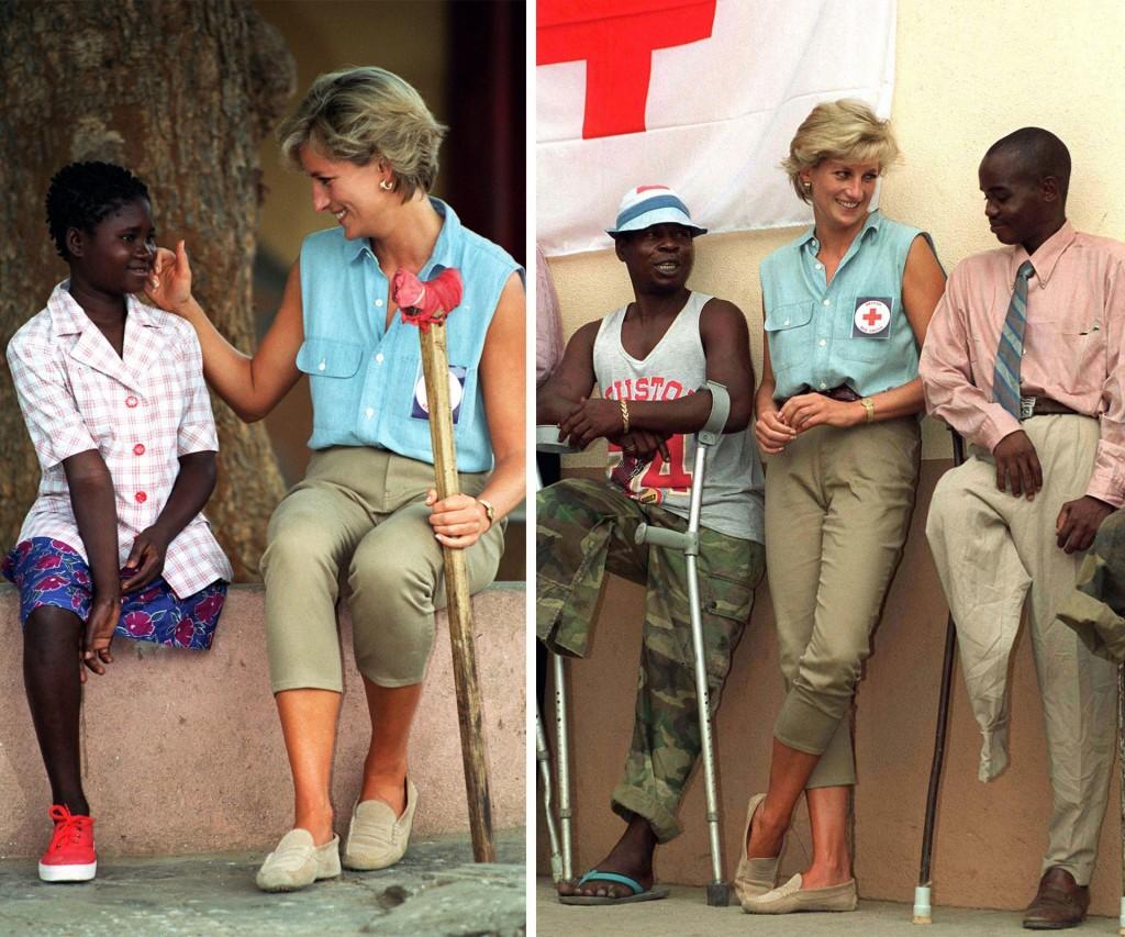 Visitó varios países del mundo con gente deshauciada y enferma junto a diversas organizaciones internacionales . Siempre íntegra y comprometida