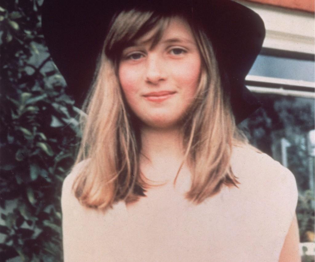 Una joven Diana, antes de conocer a Carlos