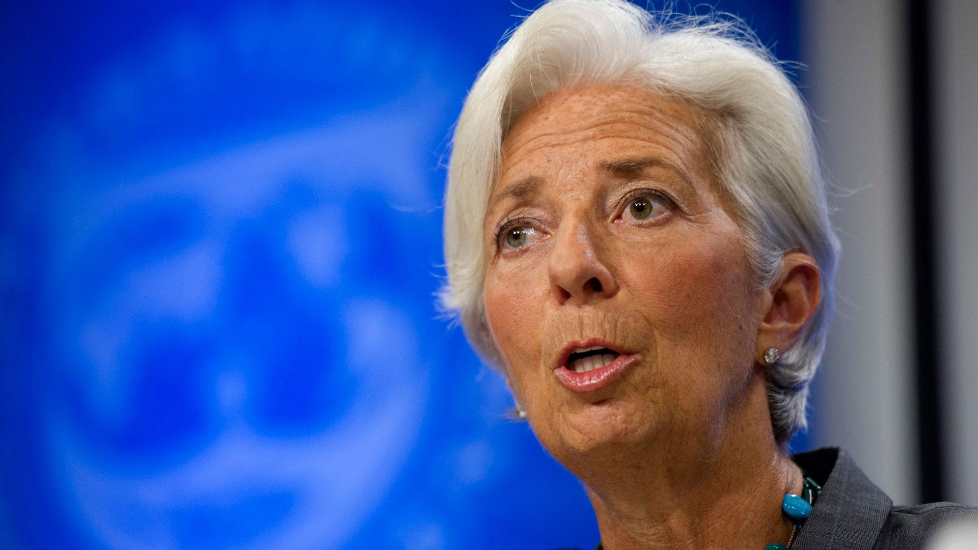 Christine Lagarde, directora del FMI (AP)
