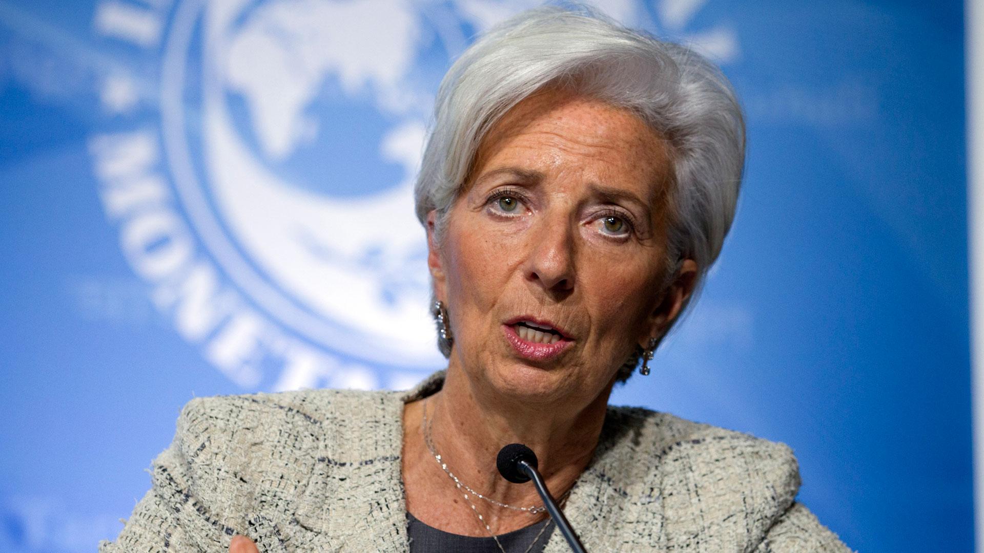 Chistine Lagarde, directora del FMI (AP)