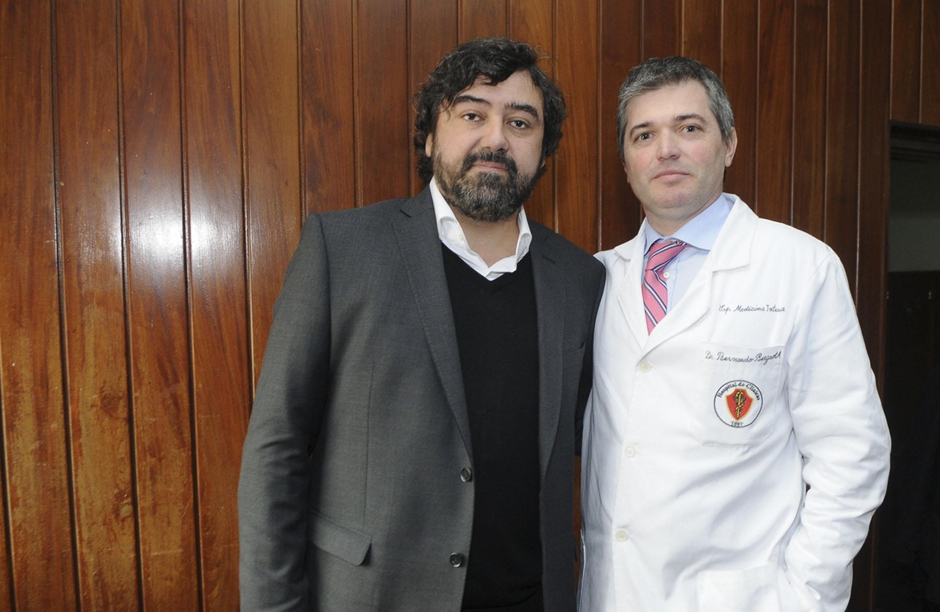 Juan Cruz Ávila y Bernardo Bergroth