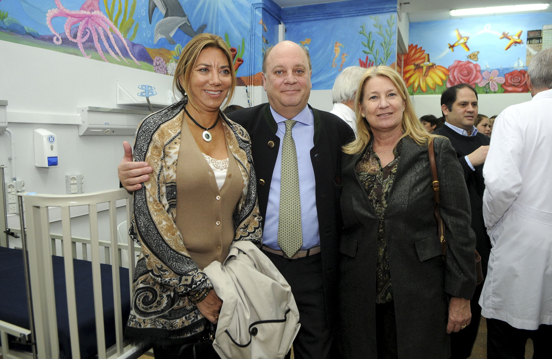 Bettina Bulgheroni, Martín Cabrales y María Taquini de Blaquier