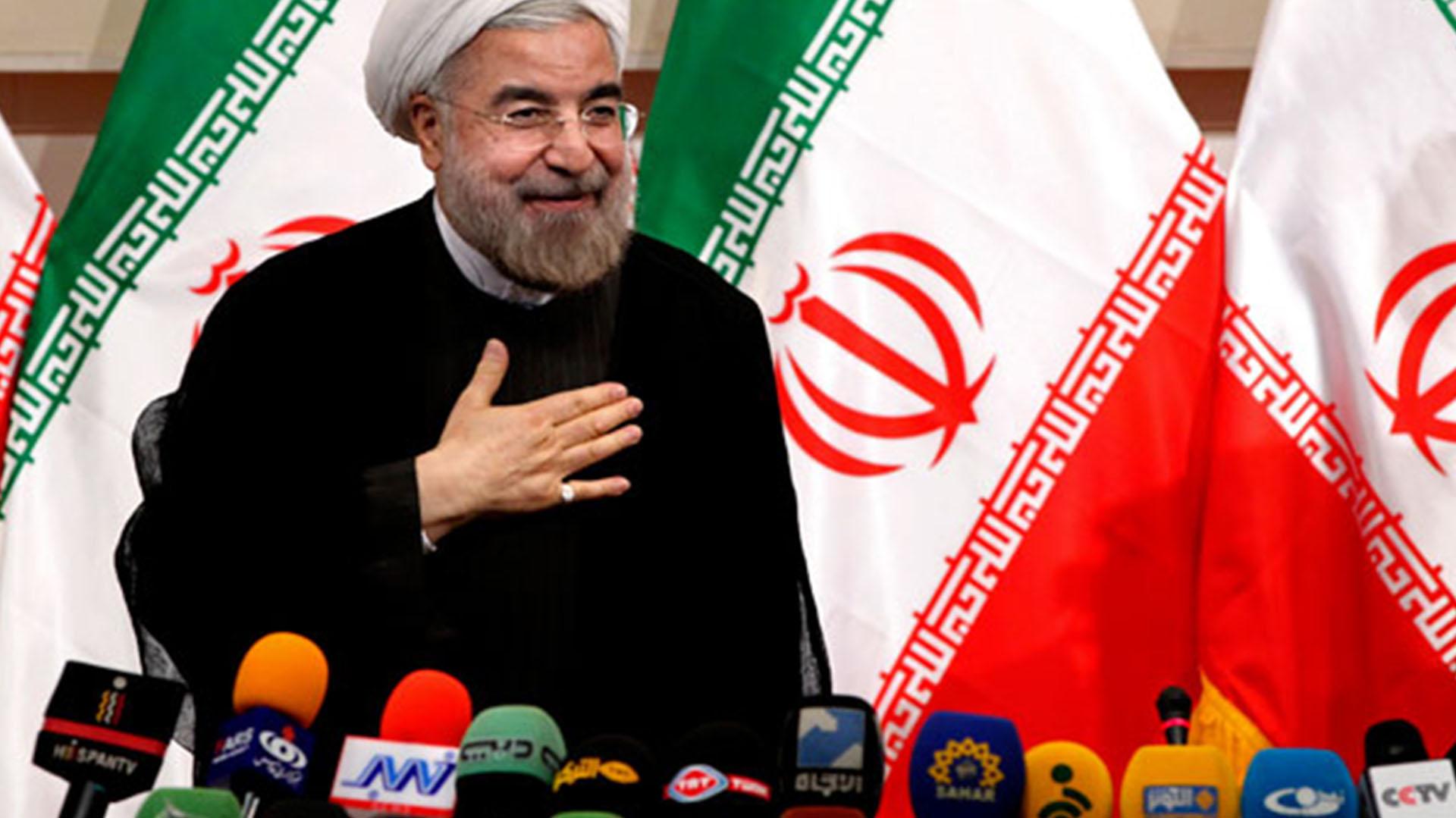 Hasan Rohani, presidente de Irán (AP)