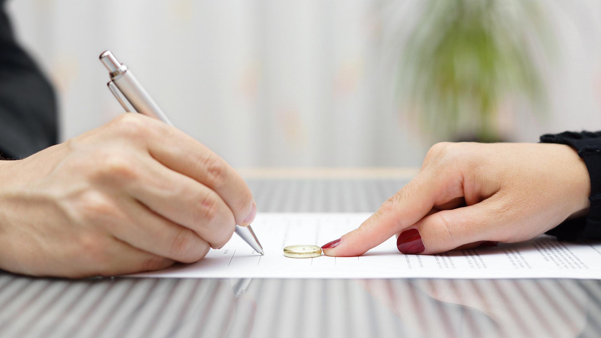 El blanqueo puede complicar la negociación por la división de bienes (Shutterstock)